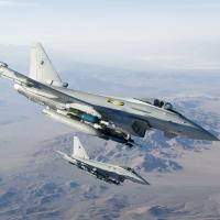 RAF No 11 Squadron Typhoon