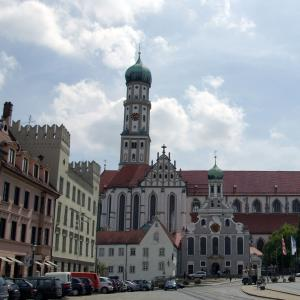 Basilica of St Ulrich and Afra, Augsburg, Germany