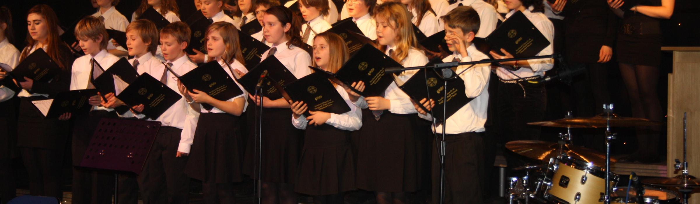 Twyford Church of England High School Chamber Choir