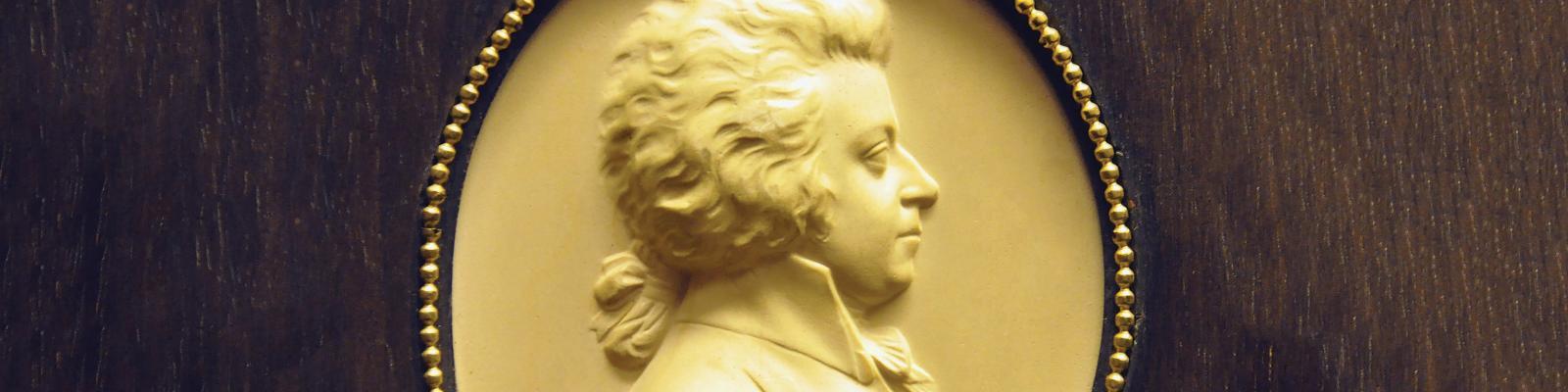 Mozart bust