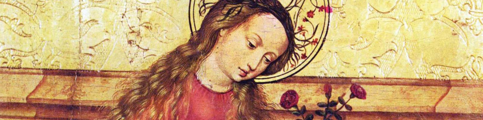Madonna in a Garden