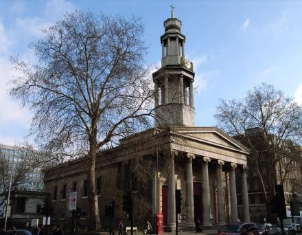 St Pancras Parish Church, Euston Road