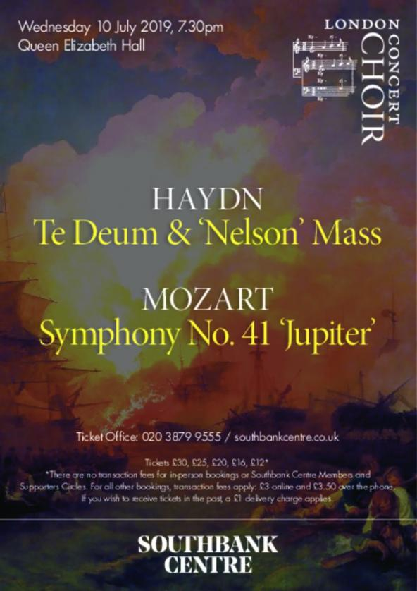 Haydn: Te Deum and Nelson Mass / Mozart: Symphony No 41