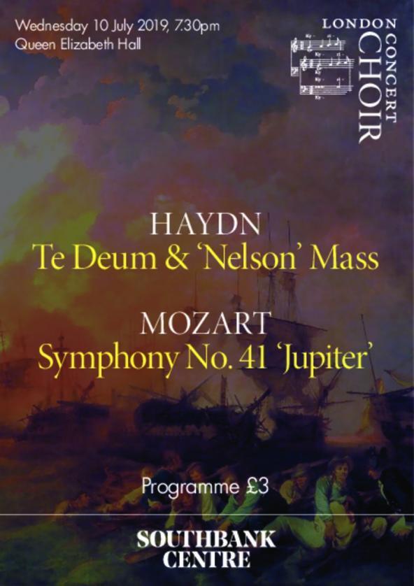 Haydn: Te Deum and Nelson Mass / Mozart: Symphony No 41 'Jupiter