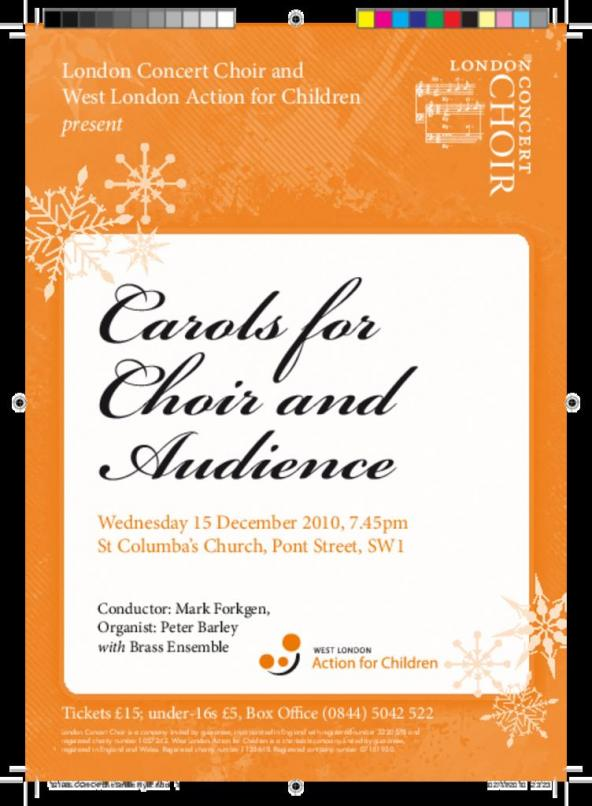 Carols for Choir and Audience   London Concert Choir